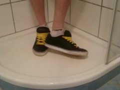 piss and vidz wetting socks  super and sneaks