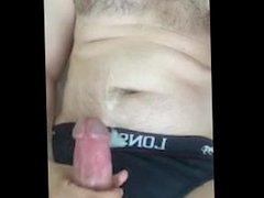 Wank and vidz cum in  super underwear