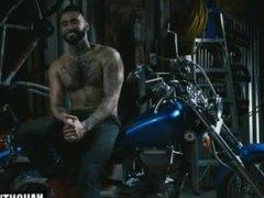 Latin gay vidz dp with  super cumshot