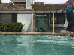 Wet Sagging vidz in Swimming  super Pool - SexySaggerYo