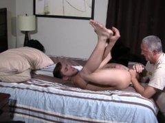 Straight Virgin vidz Jock Gives  super Up His Tight Ass Bareback For Daddy