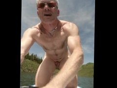 More Naked vidz Paddle Boarding  super in Colorado