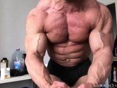 Bodybuilder Posing vidz for Muscle  super Worship Session. Sorry - Totally SFW.