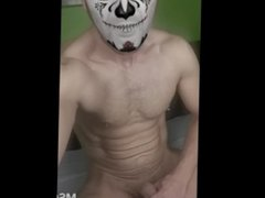 mask vampire vidz masturbating....gay video