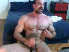 Muscle Daddy vidz Eats His  super Cum