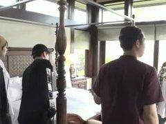7 Koreans vidz fuck on  super their honeymoon