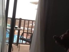 Caught by vidz straight friend  super on holiday(wanking)