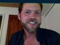 American guy vidz nice beard  super horny cam show