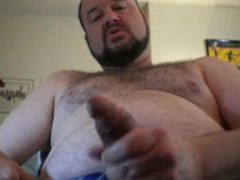 Quick Shot vidz of Stroking  super My Cock and Blowing A Load