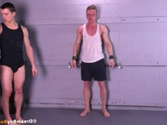 Straight Stud vidz Crucified BDSM  super Gay Bondage Uncut Whipping Muscle Torture
