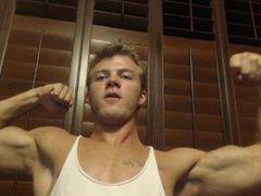 Muscle Worship vidz Teen Biceps  super - Hercules Reborn Muscular Blonde