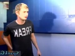 Angel-gay twinks vidz spanked wearing  super socks and boy small dick