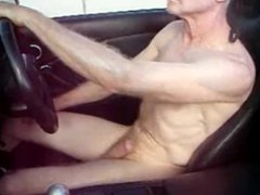 hot daddy vidz driving and  super jerking