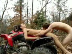 2 guys vidz on atv  super out doors pt 2