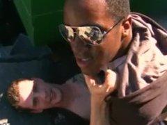 Thug Hunter vidz - Black  super Thug Loves White Dick