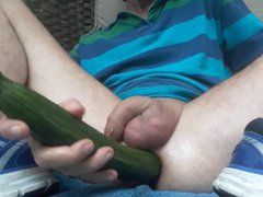 Outside cucumber vidz fuck with  super my piss #2