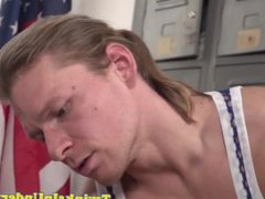 Massaged twink vidz anally fingered  super by muscle guy