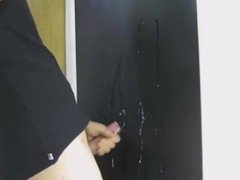 Small-dicked Asian vidz jerking-off &  super dick slapping