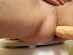 Toys 1 vidz Fucking my  super asshole with dong