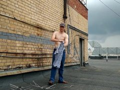 LanaTuls - vidz Let's get  super NAKED on the ROOF. My first Outdoor solo video.