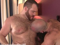 Hairy Hung vidz Bearded Otter  super Flip Fuck with Hairy Young Bear