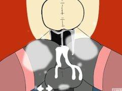 Crowjob In vidz Space -  super Calvin - Male On Male Scenes (Gay)