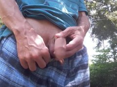 Outside foreskin vidz piss #2