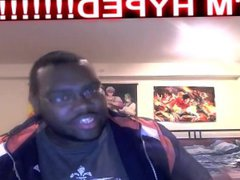 Sexy Black vidz Chubby Man  super Finally Loses His Virginity to Sexy Anime Man