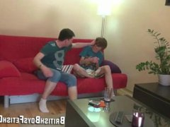 Cute Brit vidz boy disciplined  super with hard spanking.