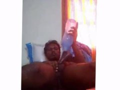 indian gay vidz masturbate by  super using water bottle