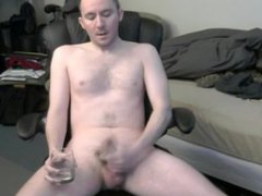 Ian Sutton vidz drinks his  super cum