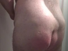 Big ass vidz and mastodon  super balls in the shower. Huge Cumshot! Ass spanking