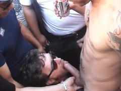 Folsom Street vidz Fair -  super Public Cocksucking and Satisfying Cum