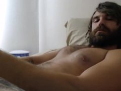 Cum on vidz Cam 39:  super Hipster Paints His Beard
