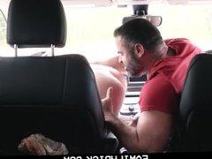 FamilyDick - vidz Muscle bear  super dad fucks boy in car for smoking