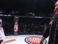 Paul Daley vidz KOs muscle  super stud Brennan Ward with a flying knee
