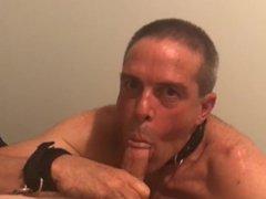 Public Humiliation vidz with POV  super Full display cock sucking by a slut whore