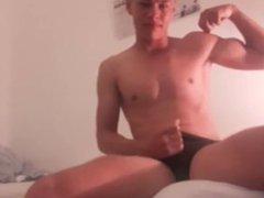 Sexy Str8 vidz Swimmer In  super Trunks