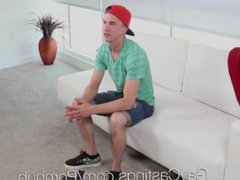 GayCastings Joel vidz Mason fucked  super by casting agent