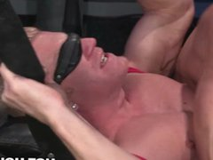 HotHouse Skyy vidz Knox Gags  super and Blindfolds Hunk Johnny V