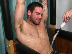 Inked hunk vidz Chase Lachance  super is restrained and fiercely tickled