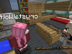 Cringey Minecraft vidz Lesbian Scene  super Kitchen