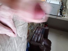 Hot cum vidz spurting from  super my hot fat cock!