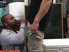 Black pawnee vidz anal fucked  super in trio needs money