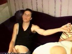 Russian gay vidz twinks jerking  super off the woods