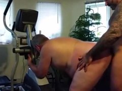 Chubby Daddy vidz Gets Fucked  super by Muscle Bear