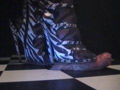 High heel vidz drives into  super his cock hard.mp4