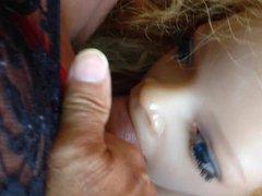 Doll Lya vidz suce le  super trave en guepiere