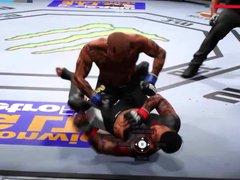 UFC 2: vidz Guys beating  super me like a bitch.