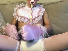 Diaper Love vidz diaperking Daddy  super s little sissy playing
